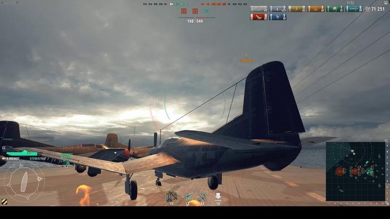 [인벤] 월드오브워쉽 개선된 항공모함 플레이 영상