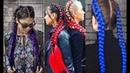Как заплетать косы плетение с канекалоном Урок №2 часть1