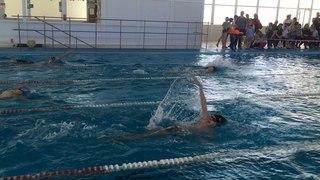 Победный заплыв Льва Голева 100 м на спине