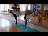 Батманы и удержание. Младшая группа боди-балет 03.05.18