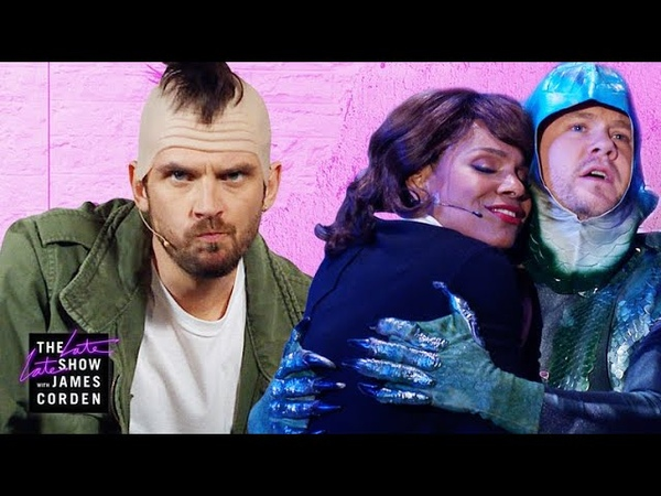 Inappropriate Musicals A Quiet Place, Taxi Driver Shape of Water w Audra McDonald Dan Stevens