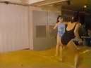 Female wrestling from Chinese movie
