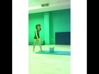 Акробатика на занятиях ?⭐️