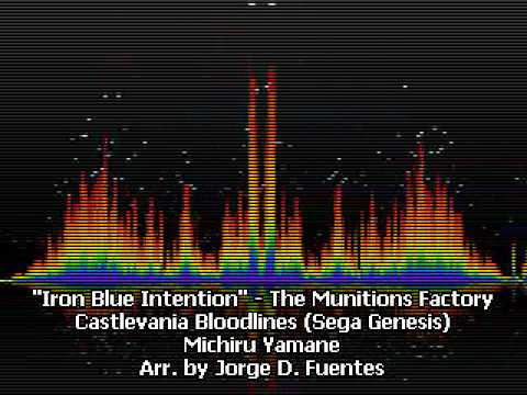 Iron Blue Intention - Stage 4 - The Munitions Factory - Castlevania Bloodlines