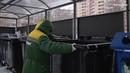 Все контейнерные площадки в Королёве оборудуют баками для раздельного сбора мусора к 1 марта