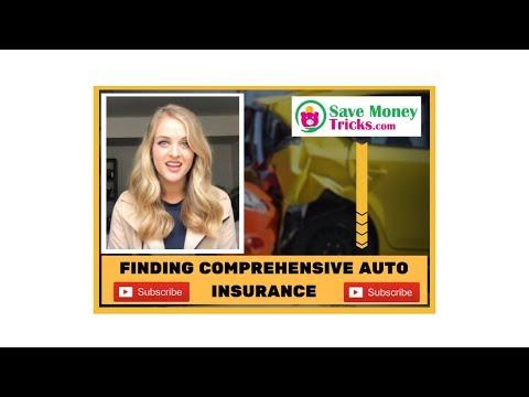 Finding Advantageous Comprehensive Auto Insurance Online