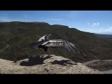 Condor feeling the wind after being released into the wild.
