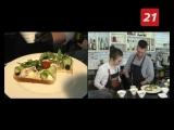 Сочная рыба и яркий бутерброд от бренд-шефа Николая Смирнова