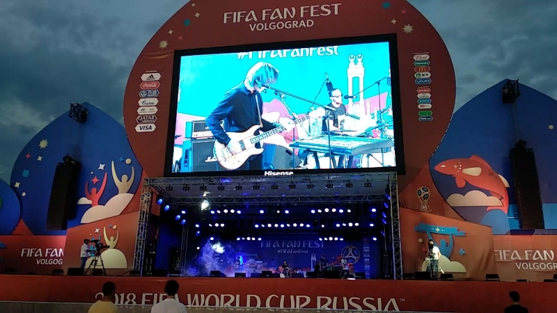 Astronauts 'n All - Many More Times (FIFA FAN FEST | 27.06.2018)