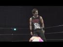 Brian Aki, HARUKAZE vs. Hagane Shino, Koharu Hinata (Ganbare Wrestling - I Have Never Seen 2018)