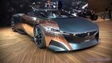 Peugeot Onyx Supercar Concept - World Premiere at Paris 2012