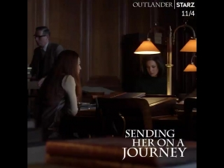 Shes ready to write the next chapter of her story. Outlander