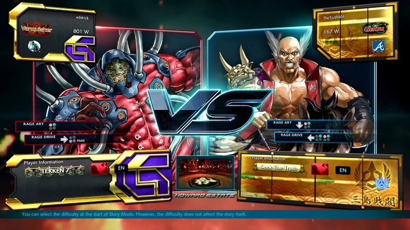 Best Bout Replays Tekken 7 - eddrick vs TheTruth404 (1080p HD 60fps)