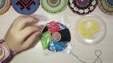Пояс для трайбл АТС из бисерных кругов. Техника вышивки бисером