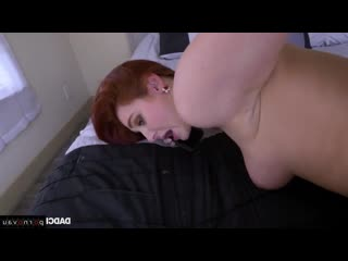 [ in stockings,чулки &  young &  redhead /  , licking eggs , cumshot in mouth , intimate haircut , in clothes , young , in panty