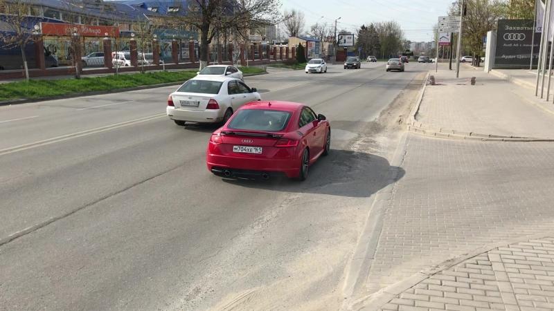 Audi TTS Stage 2 PopsBangs