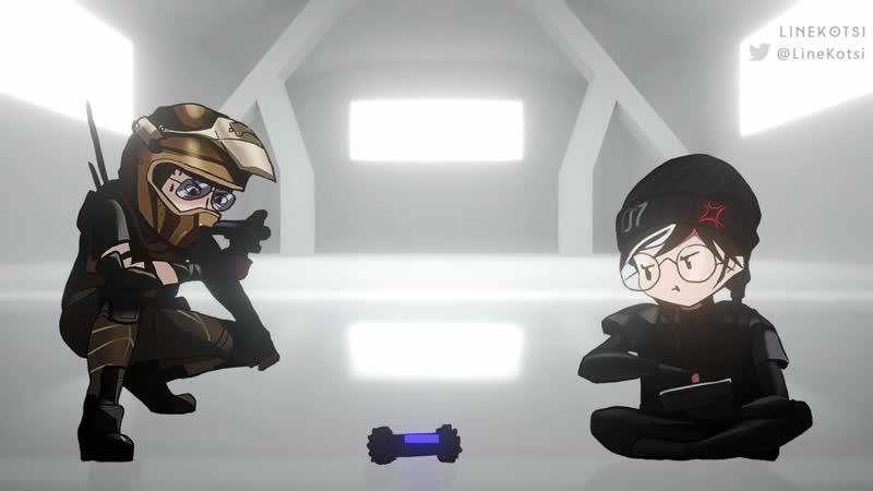 Eternal war hackers Mozzie vs Dokkaebi