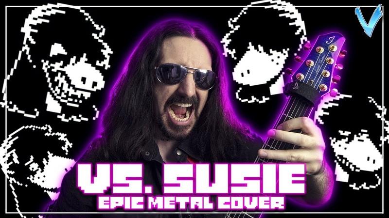 DELTARUNE - Vs. Susie [EPIC METAL COVER] (Little V)