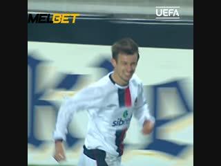 Хет-трик Сергея Семака в матче ПСЖ - ЦСКА 1-3, 7 декабря 2004 года