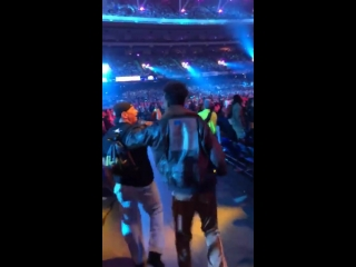 Desiigner at WrestleMania 34
