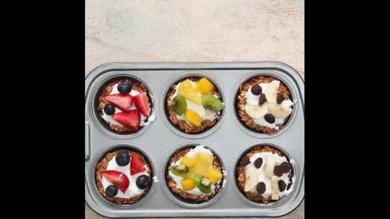 Потрясающе вкусный и полезный десерт для любителей сладкого!