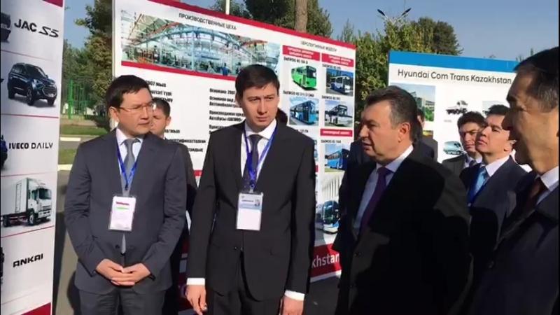 Премьер-Министры Казахстана и Таджикистана оценили качество экспортируемых казахстанских автомобилей