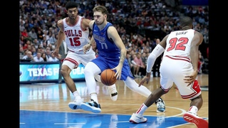 Luka Doncic Fakes Out Bulls Defenders
