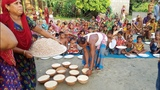 Traditional Yogurt &amp Flattened Rice Making To Feed Whole Village Peoples - Tasty Bengali Sweet Curd