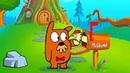 MR Grumpy Мистер Грумпи 1 Мультик Для Детей И Малышей Смешной Мультик Дразним бобра