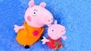 Vídeos de Peppa. Ayudamos a Mamá Pig. Juguetes peluches.