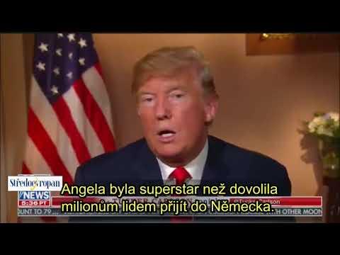 Donald Trump o Merkelové