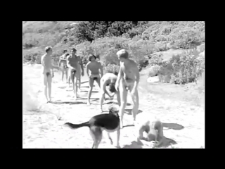 Vintage nudist camp 1960-1967