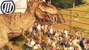 Jurassic World Evolution: T-REX Escape - Dino Rampage Park Destruction