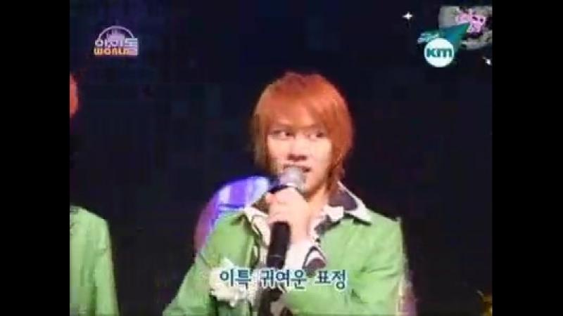 Heechul, Kangin, Eunhyuk imitate Leeteuk cute expression