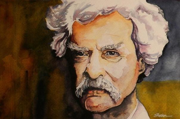 Искра человеческой доброты... Марк Твен терпеть не мог банкиров и всегда высмеивал ,,Это люди, говорил он, которые дадут вам зонтик, когда сияет солнце, но немедленно потребуют его обратно, как