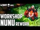 Нуну помощник Санты ● Workshop Nunu ● Обзор скина