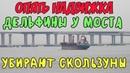 Крымский мост 07 12 2018 Ж Д надвижки продолжаются Дельфины Пролёты ставят на опоры Обзор