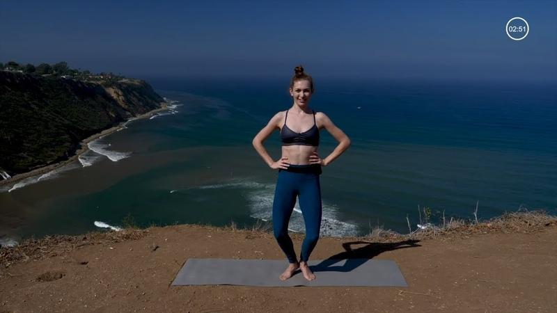 Тренировка пилатес для тонуса пресса и ног. Pilates Workout To Tone Core Legs and Everything In Between