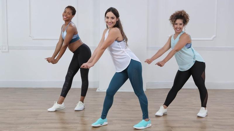 15-минутная танцевальная кардио тренировка. 15-Minute Bounce-Back Cardio Dance Workout