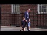 Уильям привез Джорджа и Шарлотту в Линдо (Royal Family Channel)