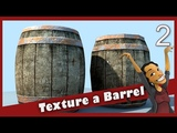 Texture a Barrel in Maya Metal