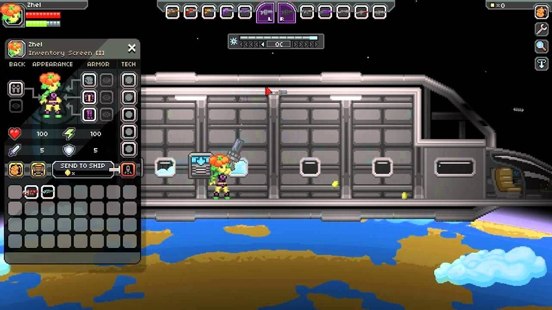Starbound - Showing off our weapon sounds!