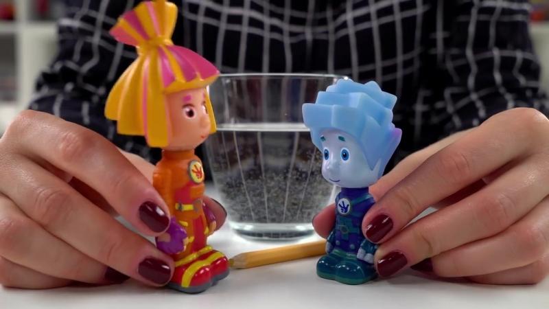 ФИКСИКИ и ОПЫТЫ с водой Лаборатория Нолика Fixiki развивающее видео Поигра
