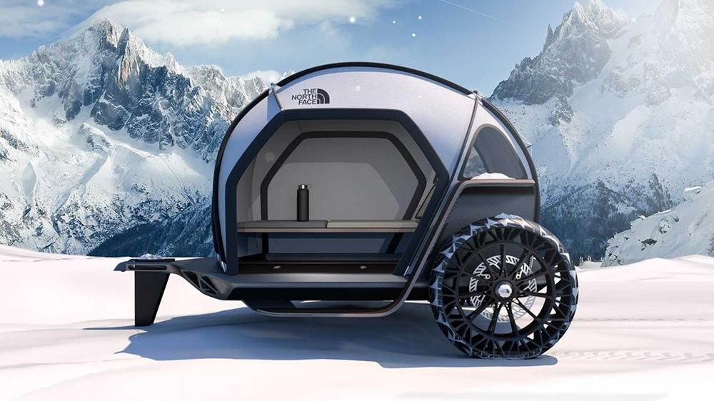 Компании BMW и The North Face представили концепт кемпера