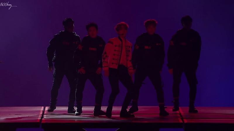 [HD 1080p] 엑소 EXO 백현 BAEKHYUN 시우민 XIUMIN Dance Battle (The EℓyXiOn in Seoul)