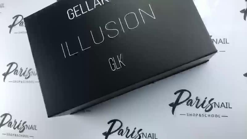 Кошачий глаз Gellaktik различные эффекты магнитов Paris Nail