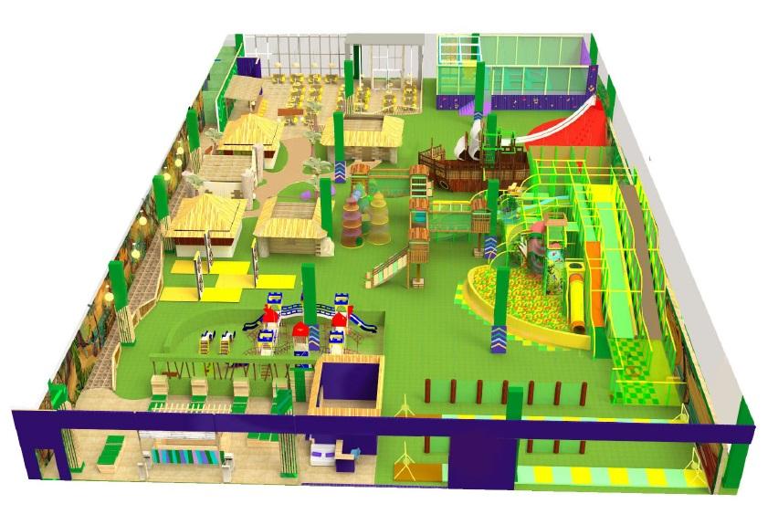 Детский Джунгли парк в ТЦ L сити
