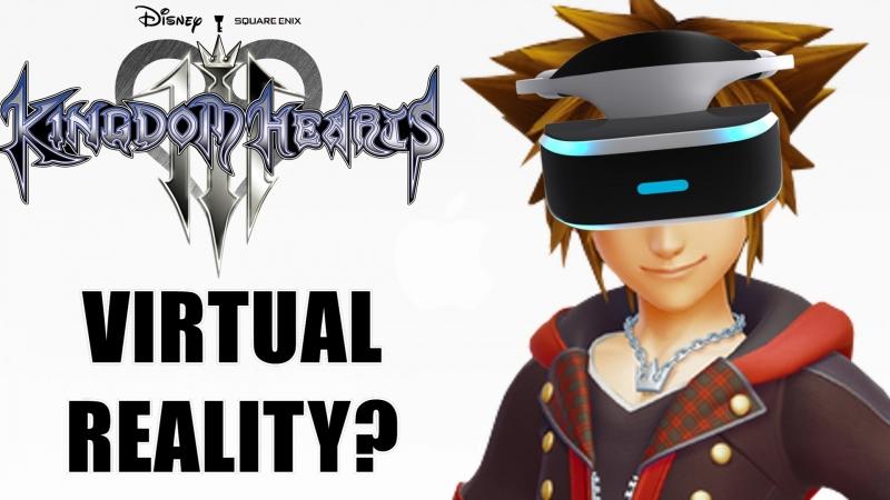 PSVR Kingdom Hearts III VR GAMECLUB Хабаровск