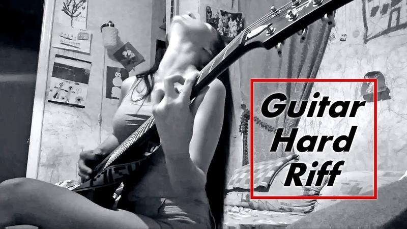 Guitar Hard Riff