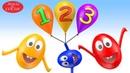 Oyuncak Uçan Balonlar - Komik Yumurta Kafalar ile Sayıları Öğreniyorum - Çocuk Vidoeları